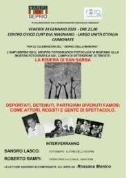 Risultati immagini per CARBONATE 24 GENNAIO 2020 CENTRO CIVICO CURT